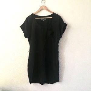 Ali & Kris Dresses - Ali and Kris black tunic dress